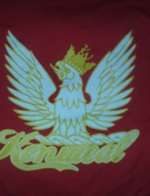 KenWeal Symbol T-shirt Red Yellow White Men