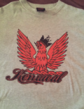 Heather Gray Black Red KenWeal Symbol T-shirt Men